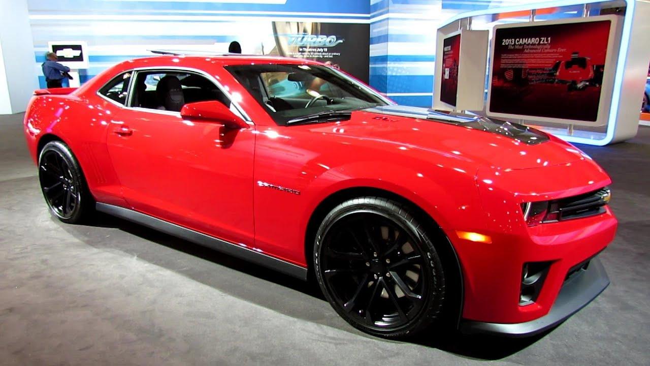 2013 Chevrolet Camaro Zl1 Exterior And Interior Walkaround 2013 New York Auto Show Youtube