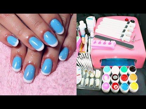 Цветные гели для ногтей, купить недорого в интернет