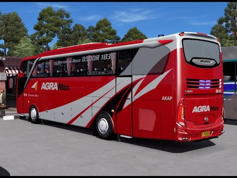 ETS 2 | Adiputro Jetbus SHD 2 + P.O Agra Mas BM 062 Executive Keluar Terminal Poris Via Cikampek