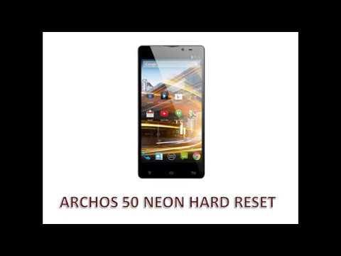 Archos 50 Neon Hard Reset