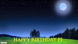 PJ  Moon La Luna - Happy Birthday