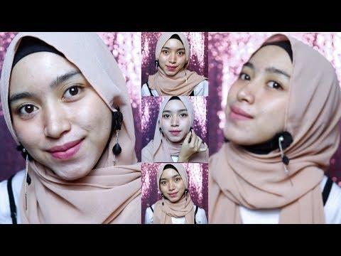 Tutorial Hijab Nissa Sabyan Pake Anting Leiner Fashion