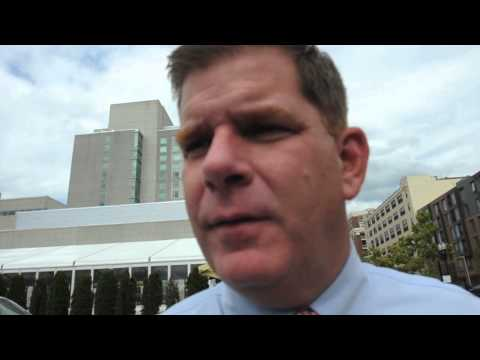 Boston Mayor Walsh on naming South Boston Library after Billy Bulger