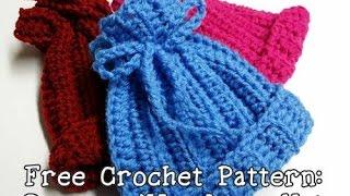 Crochet a Ribbed Newborn or Preemie Hat