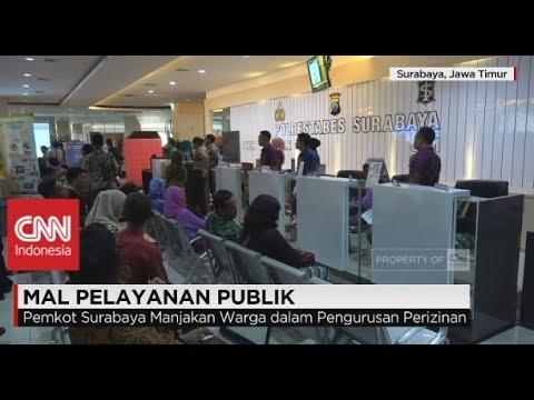 Wow! Surabaya Punya Mall Pelayanan Publik Pertama di Indonesia