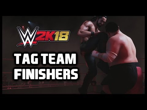 WWE 2K18 - Tag Team Finishers Moves