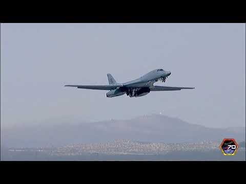 FULL VIDEO: Edwards Air Force Base's 70 years of supersonic flight ceremony