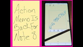ACTION MEMO Is BACK For Samsung Note 8 🔥 EASY FIX