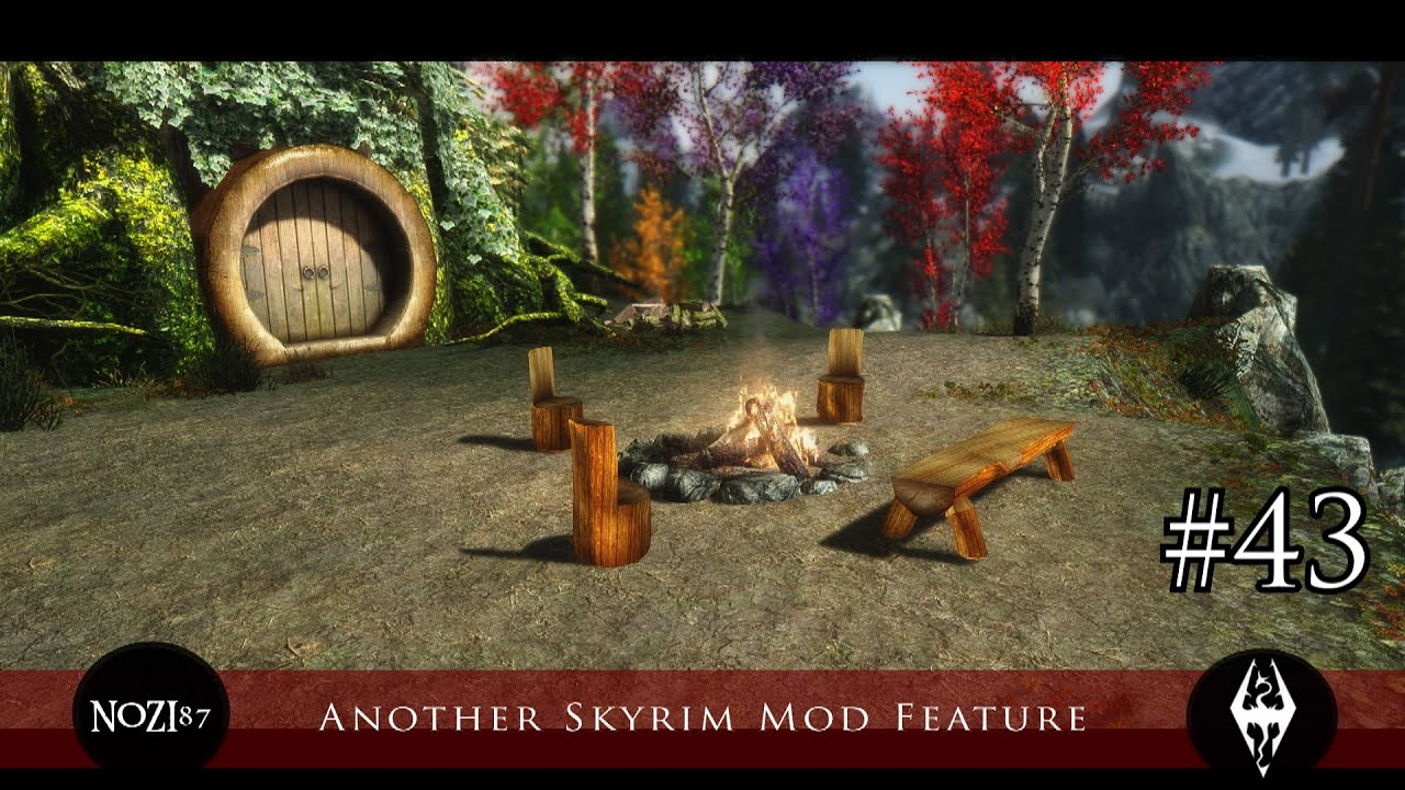 Another Skyrim Mod Feature #43 by NOZGAMING