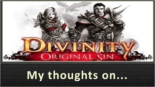 My Thoughts On Divinity Original Sin