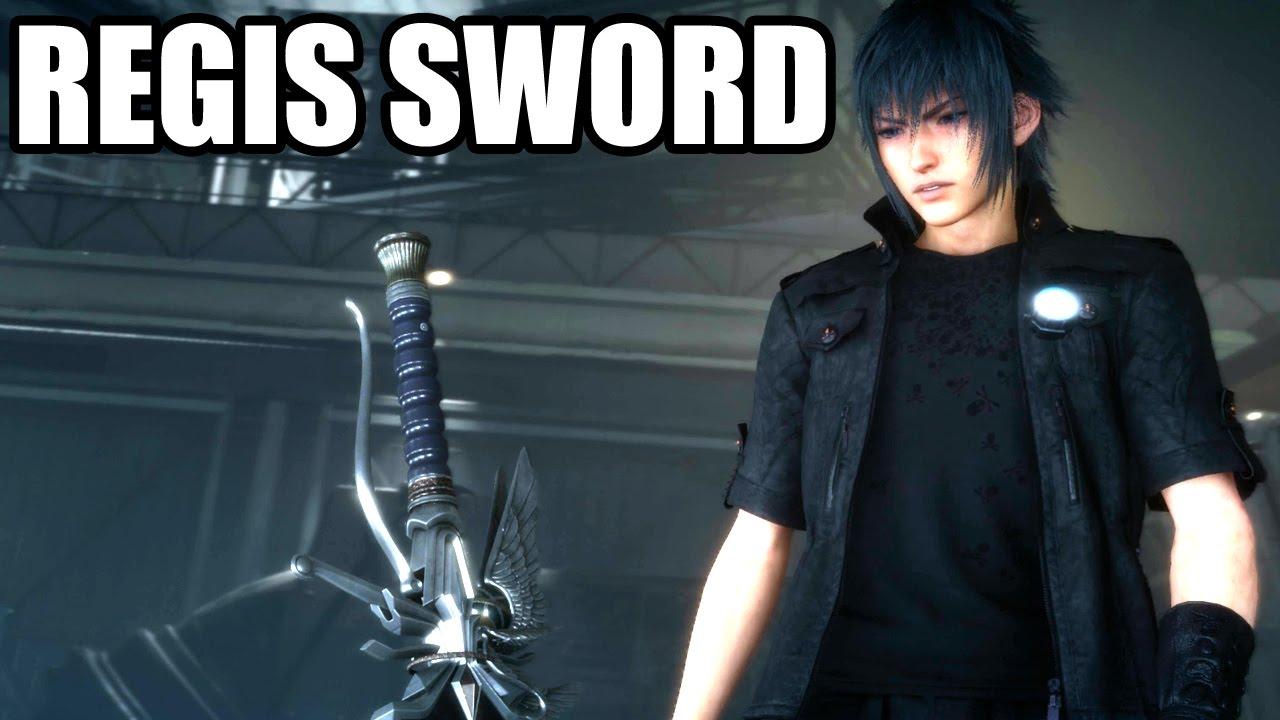 how to get dj sword ffxv