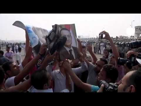 First witnesses heard in Mubarak trial