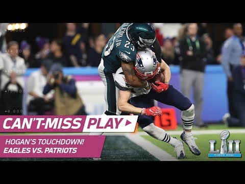 Tom Brady Fires A TD To Chris Hogan To Cut Philly's Lead!   Eagles Vs. Patriots   Super Bowl LII