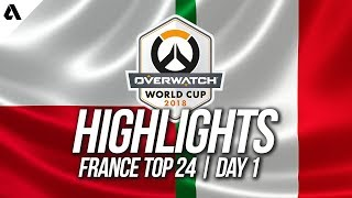 Poland vs Italy | Overwatch World Cup 2018 Paris Qualifier Day 1