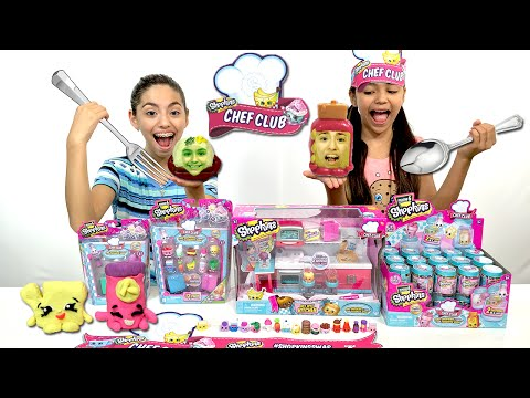 SHOPKINS Season 6 CHEF CLUB Play Doh...