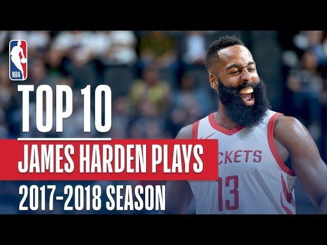 James Harden's Top 10 Plays of the 2017-2018 NBA Season | NBA MVP Nominee