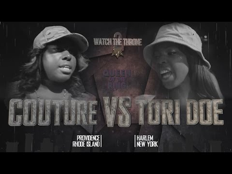 COUTURE vs TORI DOE QOTR presented by BABS BUNNY & VAGUE (FULL BATTLE)