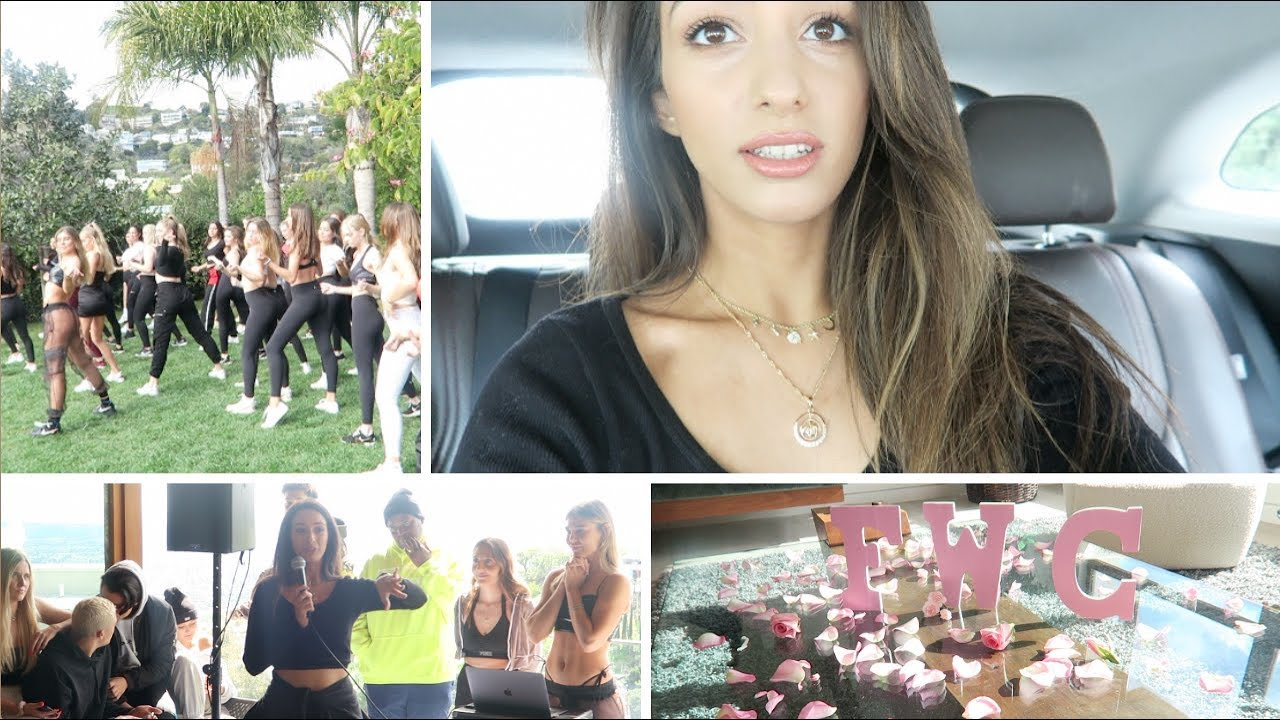 I went to the FIT WITH CAMBRIE Pool PARTY | LA VLOG