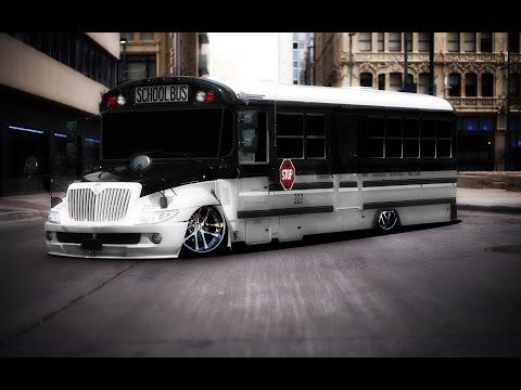 virtual tuning photoshop school bus #10