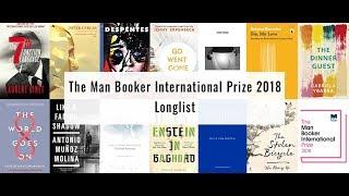 The Man Booker International Prize 2018 Longlist