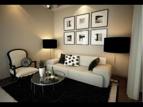 Ideas para decorar una sala peque a i parte como decorar for Como arreglar una casa pequena
