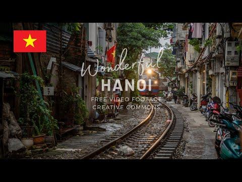 STOCK VIDEO FOOTAGE FREE - WONDERFUL HANOI