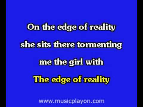 Elvis Presley karaoke  Edge Of Reality