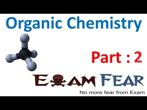 Chemistry Organic Chemistry Basics part 2 (Tetravalency & hybridization of carbon) CBSE class 11 XI from YouTube · Duration:  12 minutes 5 seconds