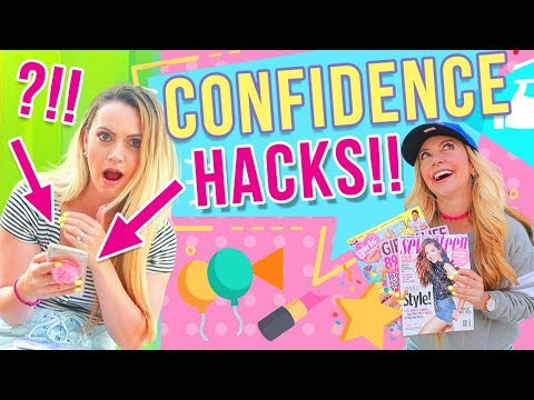 BACK TO SCHOOL CONFIDENCE HACKS Every Girl Should Know!!!