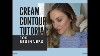 Makeup Tutorial For Beginners | Cream Contouring