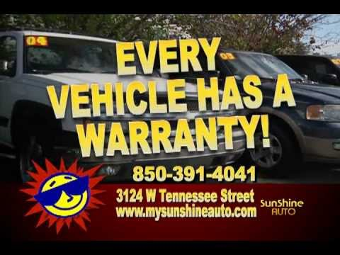 Sunshine Auto Tallahassee. NO CREDIT CHECK !!!