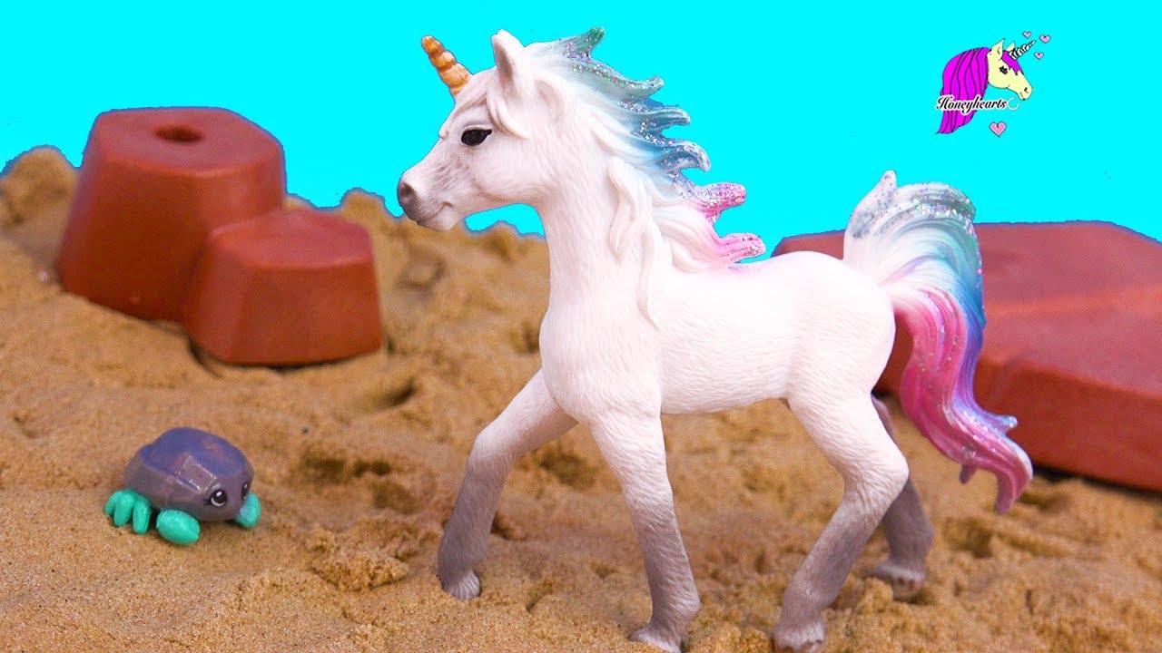 Sea Star Unicorn Schleich Horse Summer Video Series Part