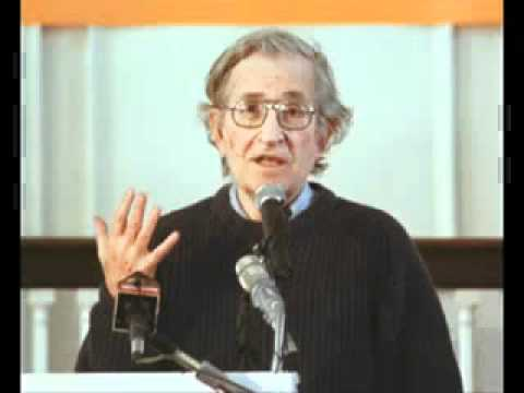 Noam Chomsky - Libertarian Socialism Defined and Connections