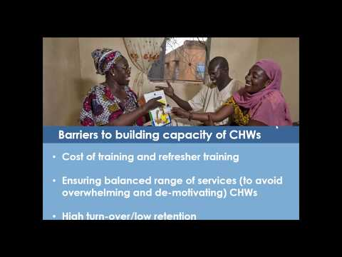 Community Health Workers: High Impact Practices, Challenges, and Opportunities