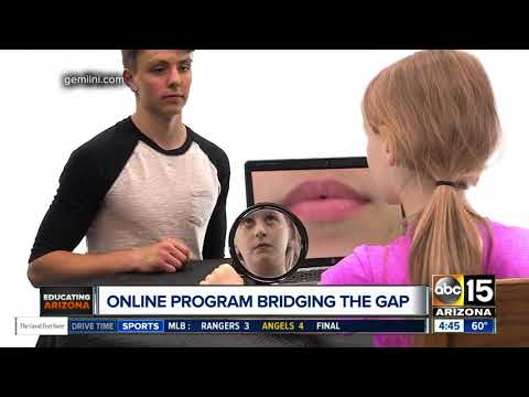 Online program helping students with autism, down syndrome and more