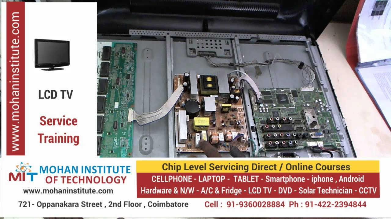 tv repair course - mohan institute of technology