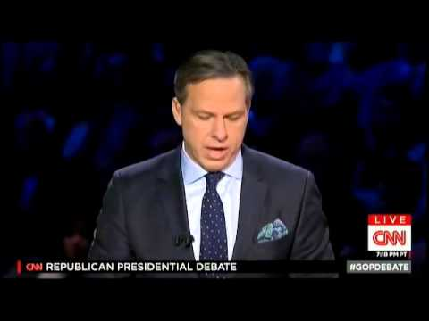 Marco Rubio on Climate Change at the CNN GOP Republican Debate from Miami