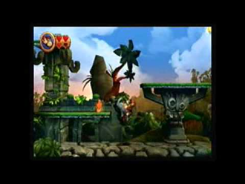 Tutorial Donkey Kong Country Returns [1-3]