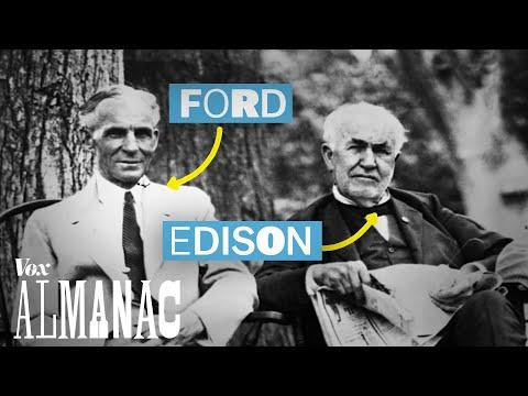 Thomas Edison's road