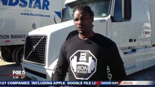 GA truck driver develops fitness app using tractor trailer as gym