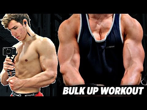 Skinny Guy Bulk Up Workout - Gym Exercises & Routine