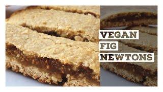 """Vegan """"fig Newton"""" Cookie Recipe"""