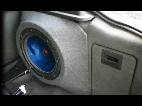 Custom Perfect Fit Fiberglass Subwoofer Enclosure Box Build