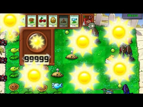 Plants VS Zombies GOTY Edition: Unlimited sun & Instant recharge cheat. Cheat Engine version 7.0