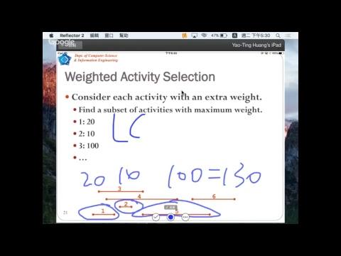20170411 Dynamic Programming 2 & Greedy Algorithm 1