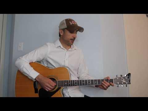 Drunk Girl - Chris Janson - Guitar Lesson | Tutorial