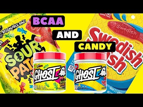 Ghost BCAA Flavor Review | Swedish Fish And Sour Patch Kids