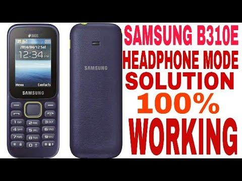 Samsung B310 Headphone Mode Solution Youtube