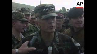 KOSOVO: WESLEY CLARK MEETS RUSSIAN PEACEKEEPERS