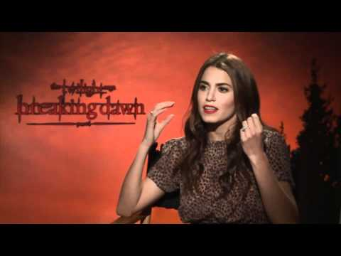 Nikki Reed Junket Interview: Breaking Dawn Part 1